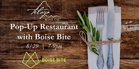 Pop-up Restaurant with Boise Bite tickets