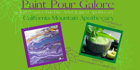 Paint Pour Galore & Essential Oil Bath Salts tickets