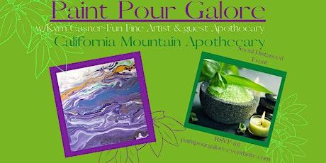 Paint Pour Galore & Essential Oil Bath Salts tickets