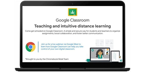 Teaching and intuitive distance learning with Google Classroom boletos