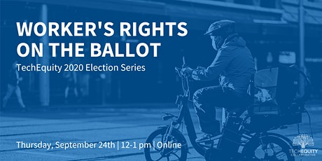 Workers' Rights on the Ballot tickets