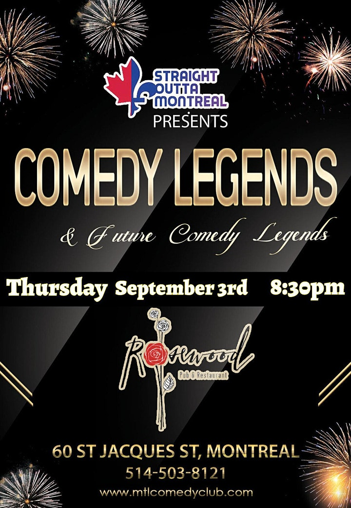 Comedy Legends ( Stand-Up Comedy ) Montrealcomedyseries.com image