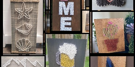 String Art class with Lisa Radical Wine Co Lehighton tickets