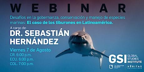 Desafío en la gobernanza, conservación y manejo de especies marinas boletos
