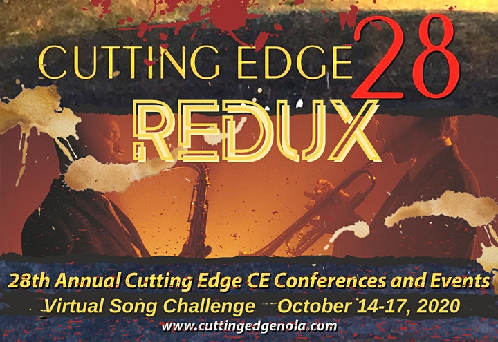 """28th Cutting Edge: CE conferences and events - """"REDUX"""", Oct 14 - 17, 2020 image"""