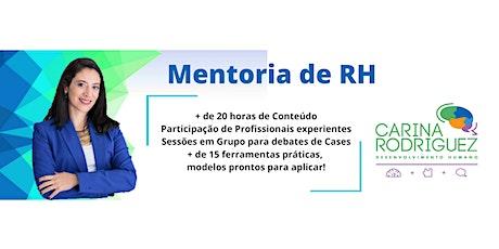 MENTORIA DE RH - Grupo Online bilhetes
