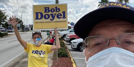Sign Waving for Bob with PEA! tickets