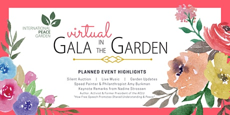 Virtual Gala in the Garden tickets