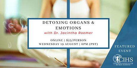 Detoxing Organs and Emotions tickets
