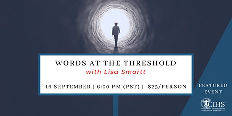 Words at the Threshold tickets