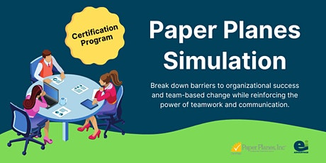 Paper Planes Certification **Instructor-Led Online** tickets
