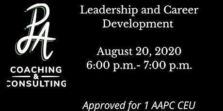 Leadership and Career Development tickets