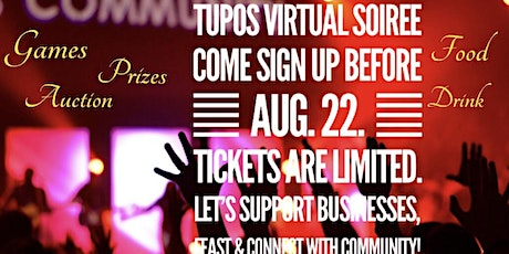 Tupos Virtual Soiree: Nite of Black Business, Fine Cuisine, and Community tickets