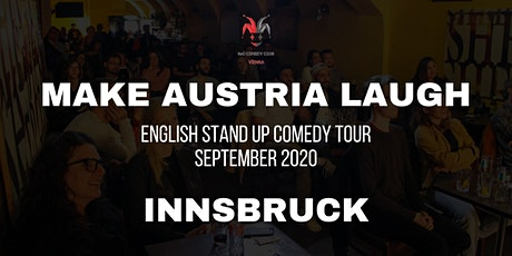 Make Austria Laugh - English Stand-Up Comedy Tour 2020 (Innsbruck) Tickets