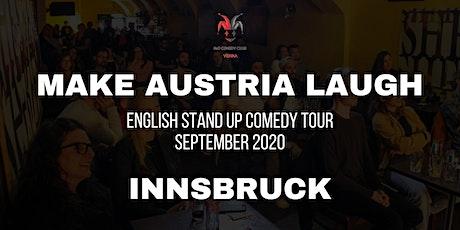 Make Austria Laugh - English Stand-Up Comedy Tour 2020 (Innsbruck) tickets