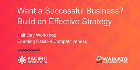 HAMILTON | Want a Successful Business? Build an Effective Strategy tickets