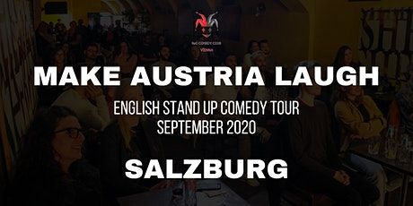 Make Austria Laugh - English Stand-Up Comedy Tour 2020 (Salzburg) Tickets