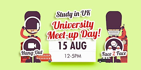 Study in UK: Universities Meet-Up Day tickets