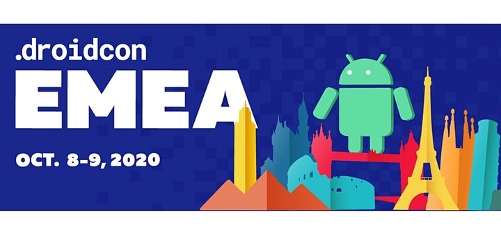 droidcon EMEA - The most INTERACTIVE virtual Android event of the year. image