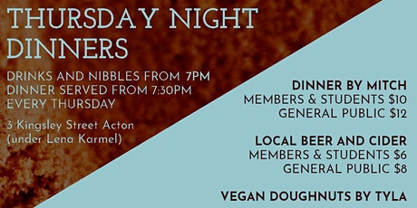 Thursday Night Dinners tickets