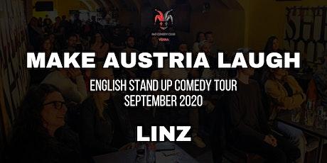 Make Austria Laugh - English Stand-Up Comedy Tour 2020 (Linz) tickets