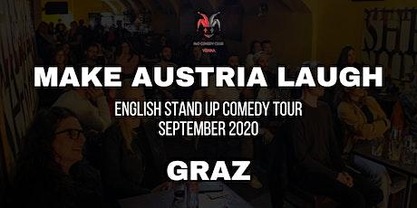Make Austria Laugh - English Stand-Up Comedy Tour 2020 (Graz) Tickets