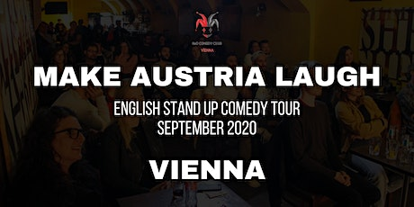 Make Austria Laugh - English Stand-Up Comedy Tour 2020 (Vienna) Tickets