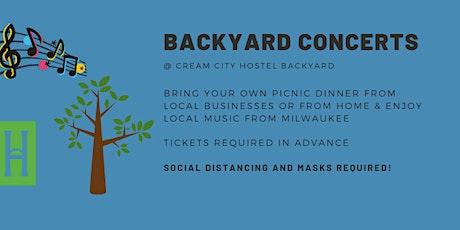 Backyard Concert at Cream City HOstel tickets