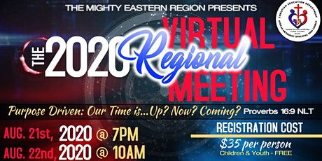 The 2020 Virtual Eastern Region Meeting tickets