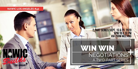 Win-Win Negotiations (A Two-Part Series) tickets