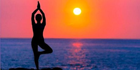 Global Sunset Yoga Fundraiser for Refugee Empowerment Program tickets