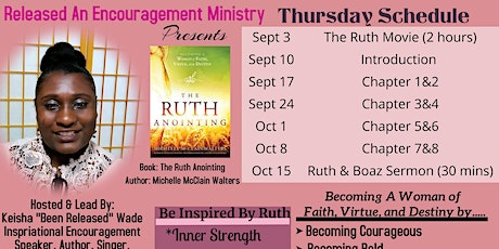 Released Encouragement Ministry Book Club (The Ruth Anointing) tickets
