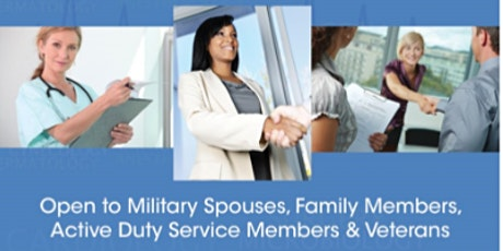 MilSpouse Healthcare Industry Virtual Networking & Hiring Event tickets