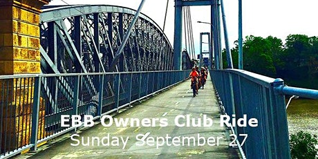 EBB Owners Club ride - Brisbane River Loop + tickets