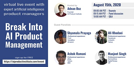 Break Into AI Product Management tickets
