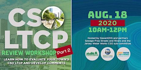 CSO LTCP Review Workshop--part 2 tickets
