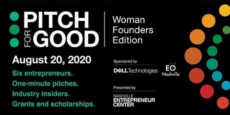 Pitch for Good: Woman Founders Edition Tickets