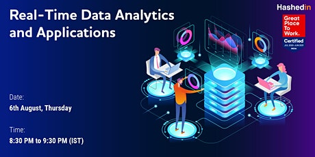 Real-Time Data Analytics and Applications tickets