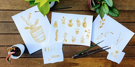 Workshop: painting plants with coffee! tickets