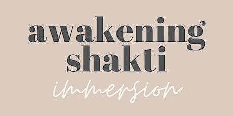 Awakening Shakti Immersion tickets