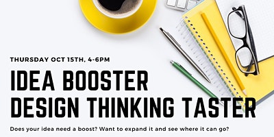Idea booster – Design Thinking Taster