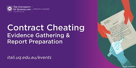 Contract Cheating - Evidence Gathering & Report Preparation  (F2F) tickets