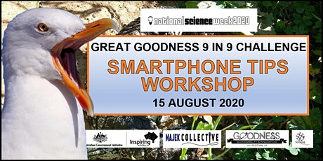 Great Goodness Challenge Smartphone Tips Workshop tickets