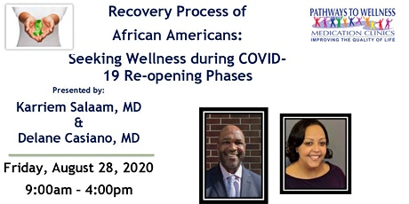Recovery Process of African Americans tickets