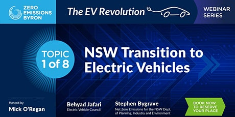 Webinar Series 1 of 8 | NSW Transition to Electric Vehicles tickets