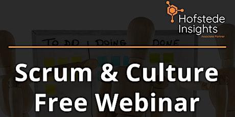 Scrum & Culture - Webinar tickets