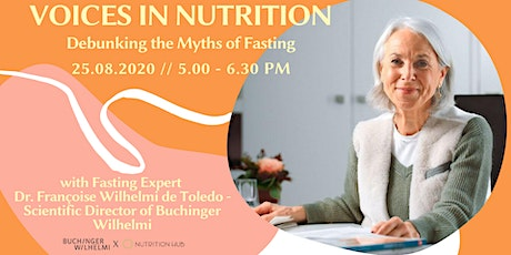 Voices in Nutrition: Debunking the Myths of Fasting tickets