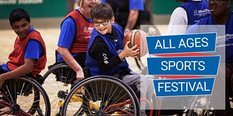 WheelPower All Ages Sports Festival - Tuesday 2 March 2021 tickets