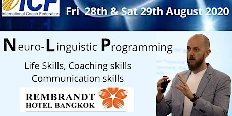 Neuro-Linguistic Programming - NLP 2 Day Training Seminar tickets
