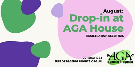 AUGUST: Drop-In with AGA tickets
